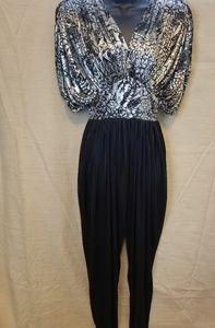 Susan Roselli for Vijack 80s Glam BodySuit Dressy